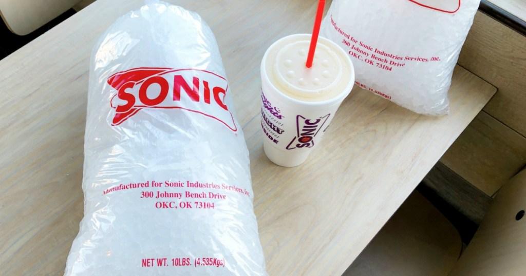 Sonic Crunchy Ice