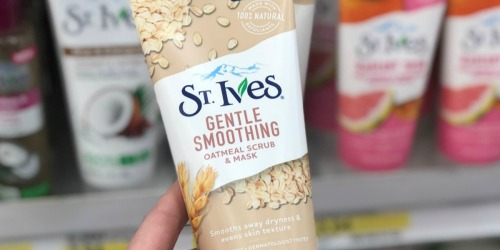 St. Ives Oatmeal Scrub & Mask Just $1.92 Each After Target Gift Card