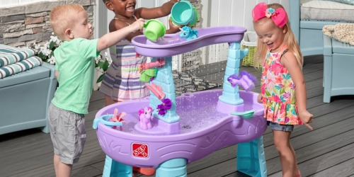Step2 Rain Showers & Unicorns Water Table Just $55.99 Shipped (Awesome Reviews)