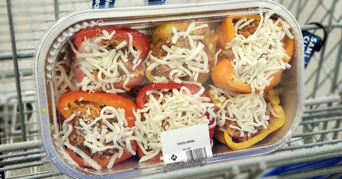 Stuffed Peppers from Sam's Club