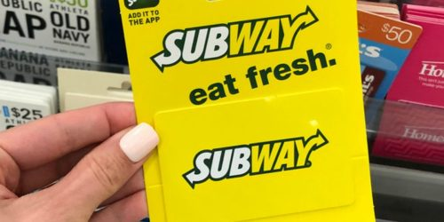 $50 eGift Cards Only $40 at Kroger | Subway, DSW, Panera & More