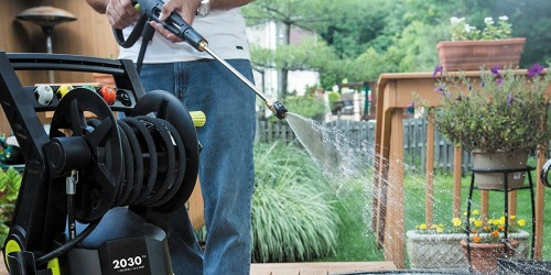 Sun Joe Electric Pressure Washer w/ Hose Reel Only $115.99 Shipped at Amazon (Regularly $230)