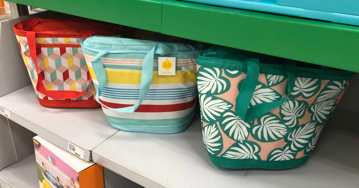 sun squad cooler totes at target