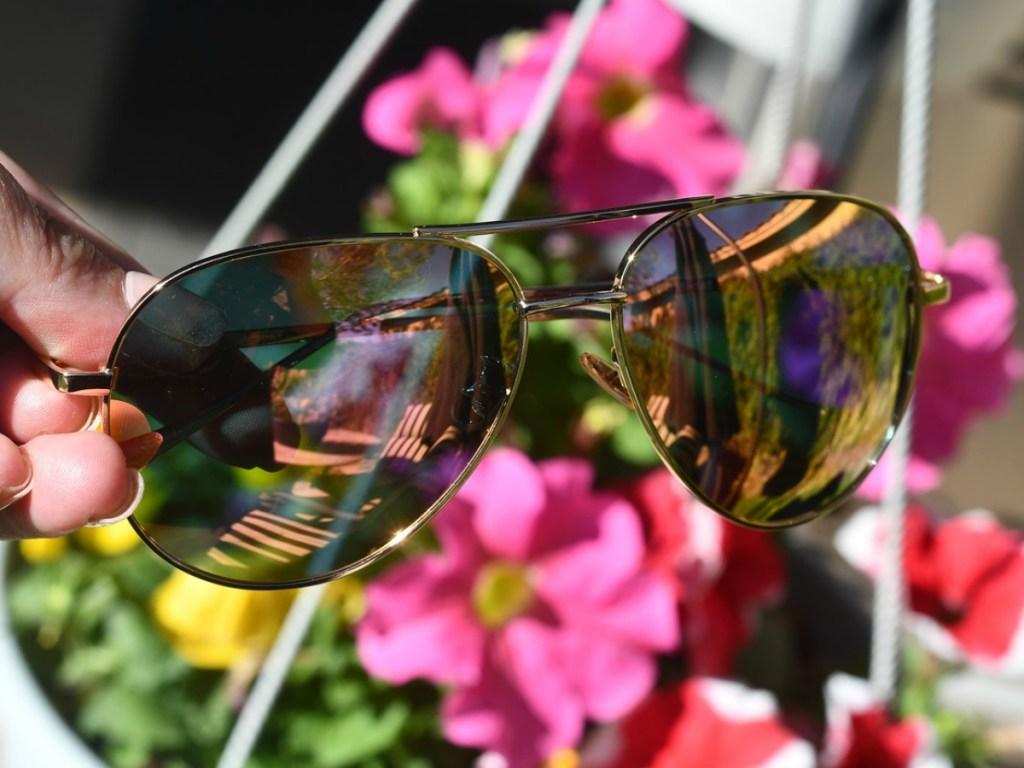 d84794e9a6 Here are the deals you can score… SUNGAIT Women s Lightweight Aviator  Sunglasses ...