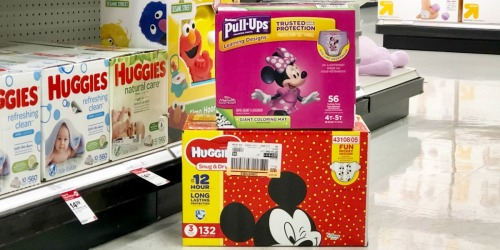 New Huggies Coupons = Super Packs Only $17.49 Each After Target Gift Card