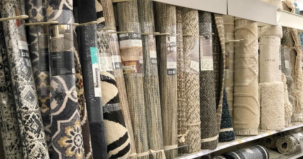 rugs on target shelf