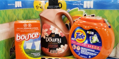 Laundry Essentials as Low as $6.37 Each After Target Gift Card (Tide, Bounce & More)