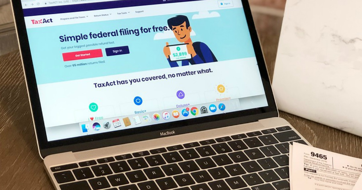 File Your 2018 Taxes for as Low as FREE with TaxAct