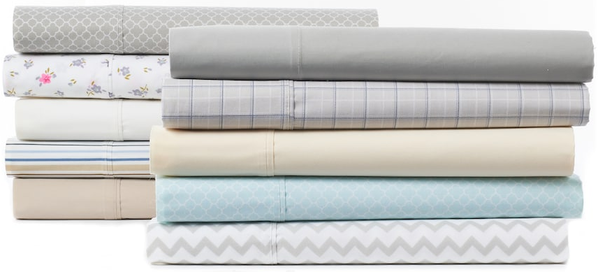 examples of The Big One sheet styles at Kohls