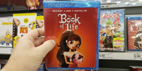 The Book Of Life Blu-ray Combo Pack Only $4 at Target (Regularly $30)