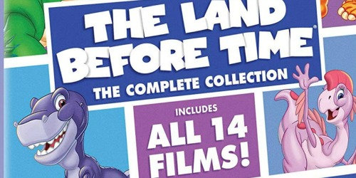 Amazon: The Land Before Time: The Complete Collection DVD Set Just $16.99 (Regularly $60)