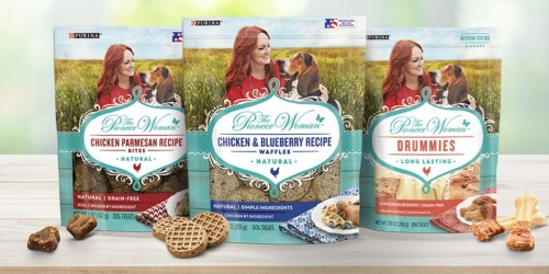 The Pioneer Woman Natural Dog Treats Now Available at Walmart.com