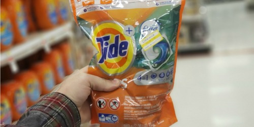 Tide Pods 42-Count Possibly Only $6 Each After Target Gift Card (Regularly $12)