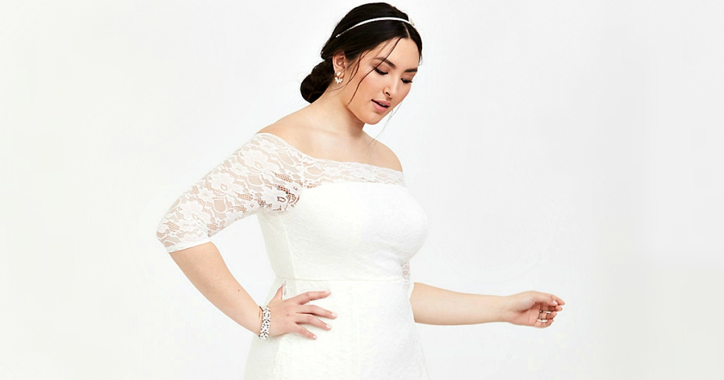 1aa2476091 Torrid Code  Plus-Sized Wedding Gowns for Less Than  175