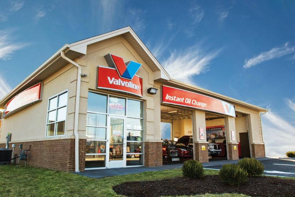 Valvoline Instant Oil Change location storefront