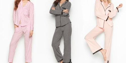 Victoria's Secret Knit PJ's Only $15 (Regularly $54)