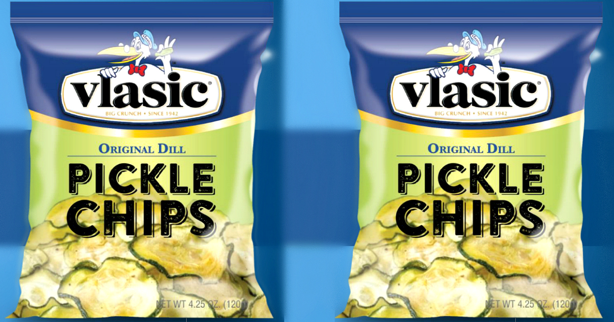 Vlasic Pickle Chips bags