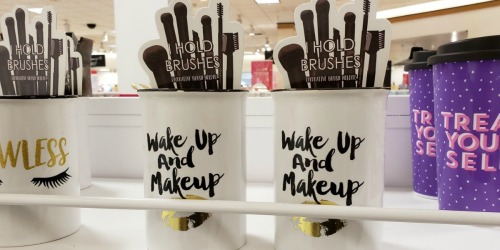 Up to 70% Off CUTE Makeup Organizers & Bath Sets at JCPenney