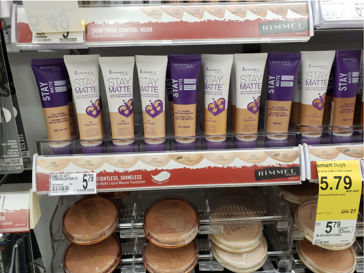 rimmel makeup at walgreens