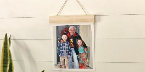Wood Hanger Board Photos Only $7.50 (Regularly $30) + Free Walgreens Store Pickup
