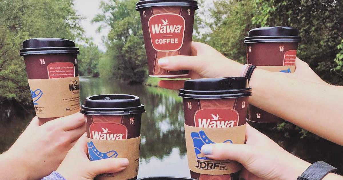 Wawa coffee cups