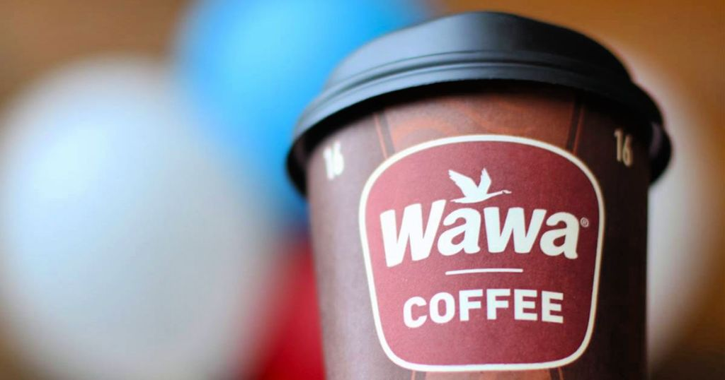 coffee in to-go cup from Wawa