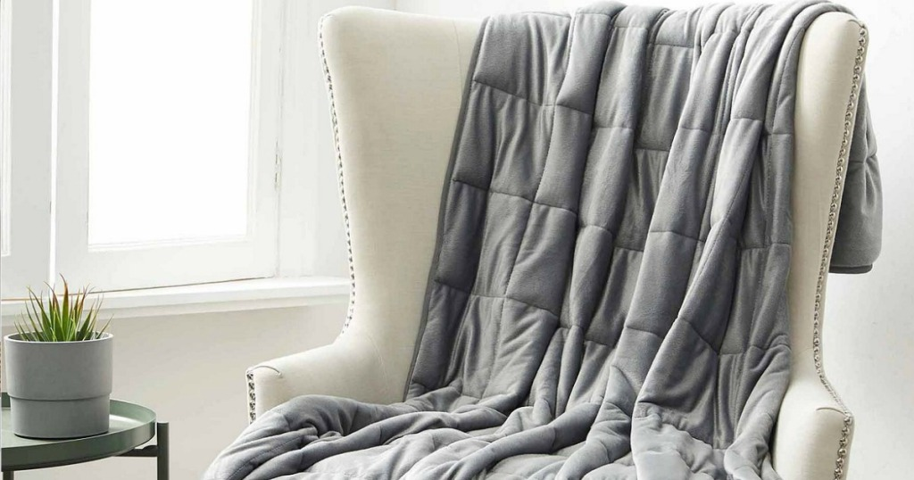 Machine Washable Weighted Blanket Only 40 98 Shipped