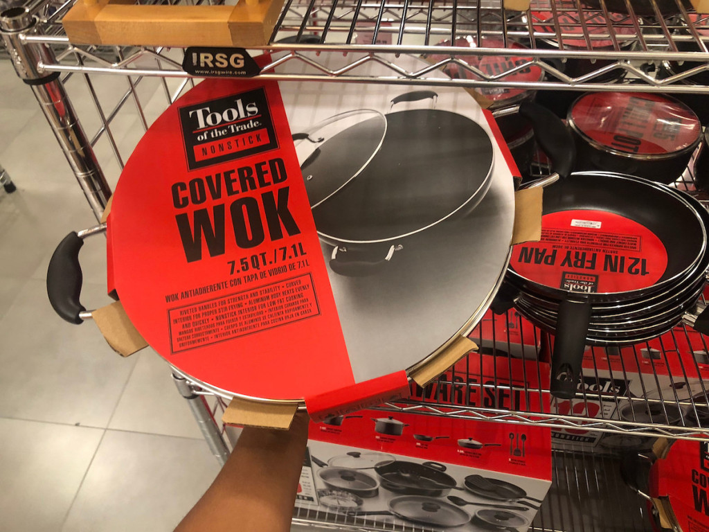 tools of the trade wok