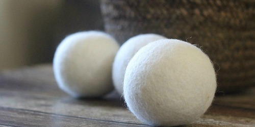 Smart Sheep Wool Dryer Balls 6-Pack Only $9.83 on Amazon