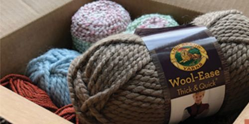 Lion's Brand 10 for $10 Yarn Sale