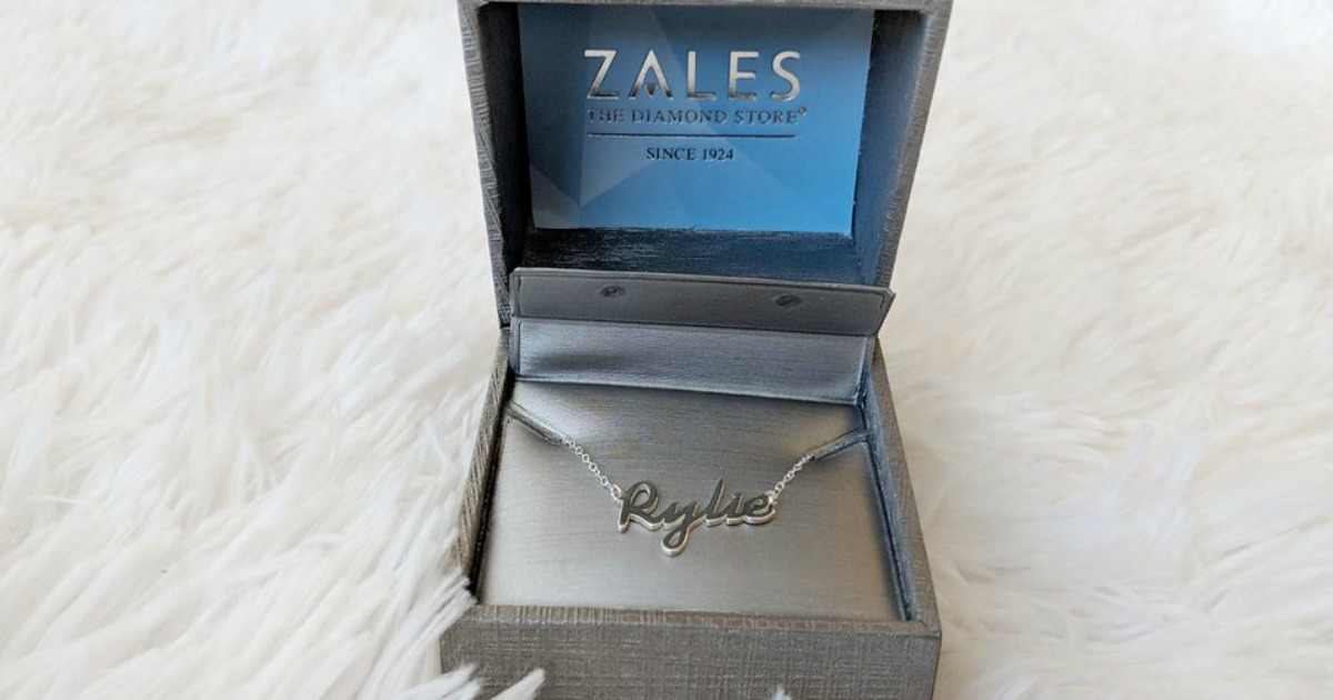 Zales Personalized Necklace