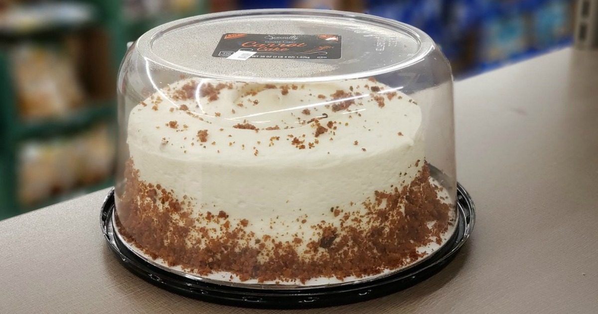 Double Layer Carrot Cake Just 7 99 At Aldi