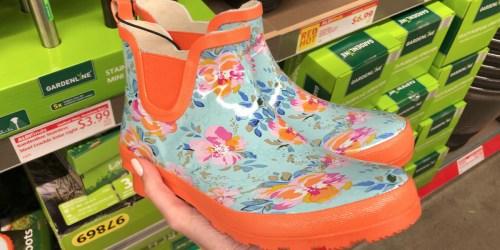 New Garden & Patio Finds at ALDI (Women's Garden Boots, Rubber Mulch & More)