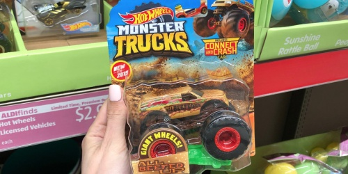 Hot Wheels Monster Trucks Only $2.99 at ALDI