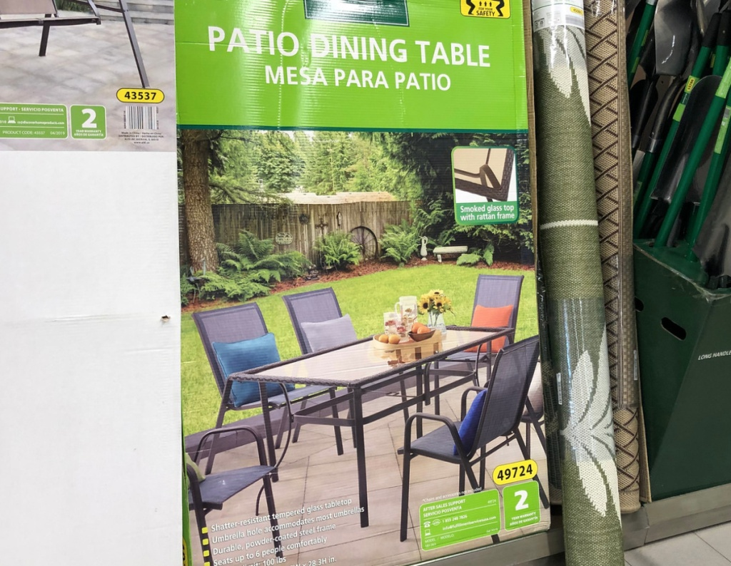 Astonishing New Patio Garden Finds At Aldi Garden Gnomes Patio Bralicious Painted Fabric Chair Ideas Braliciousco