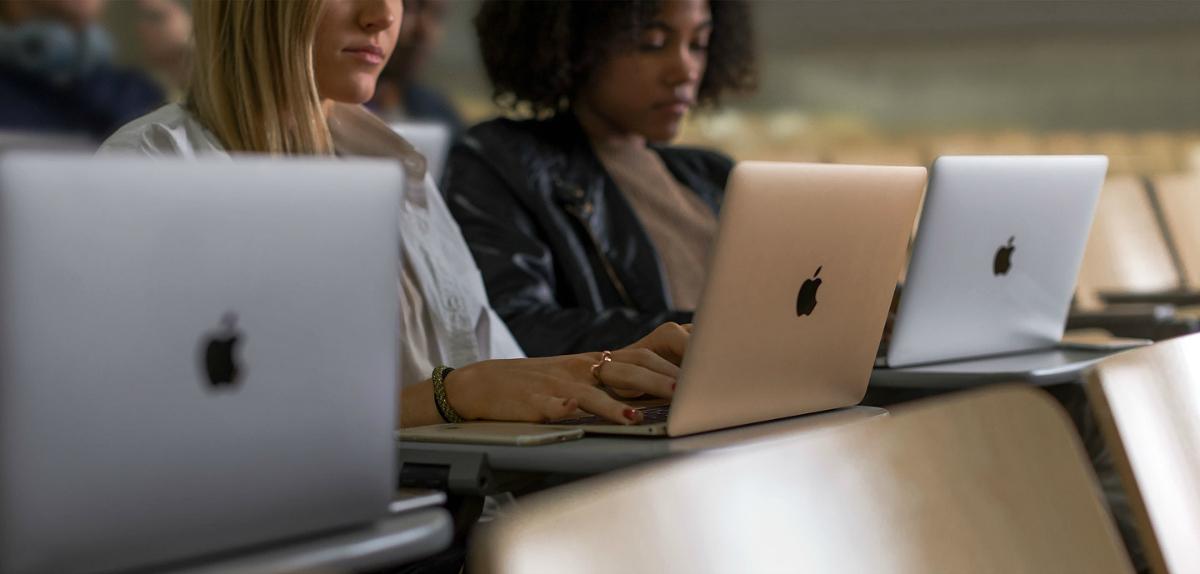 people using Apple computers