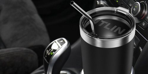Atlin Insulated Tumbler Set Only $16.99 on Amazon (Regularly $40)