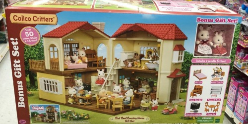 HUGE Calico Critters Country Home 50+ Piece Set Only $49.99 Shipped at Target.com