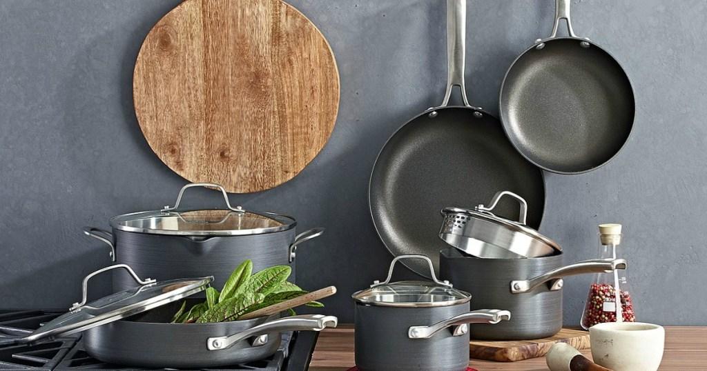 Calphalon 10-Piece Cookware Set Just $118.99 Shipped ...