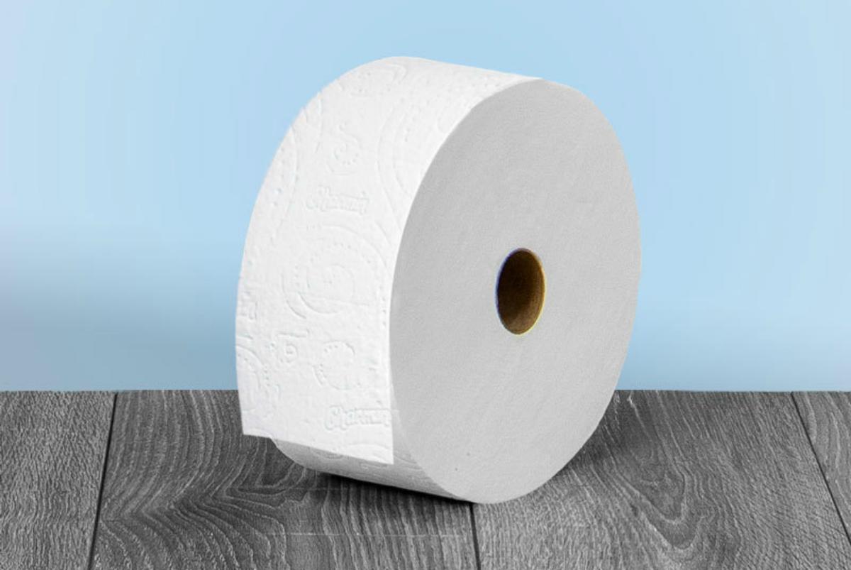 charmin single user forever roll on a table