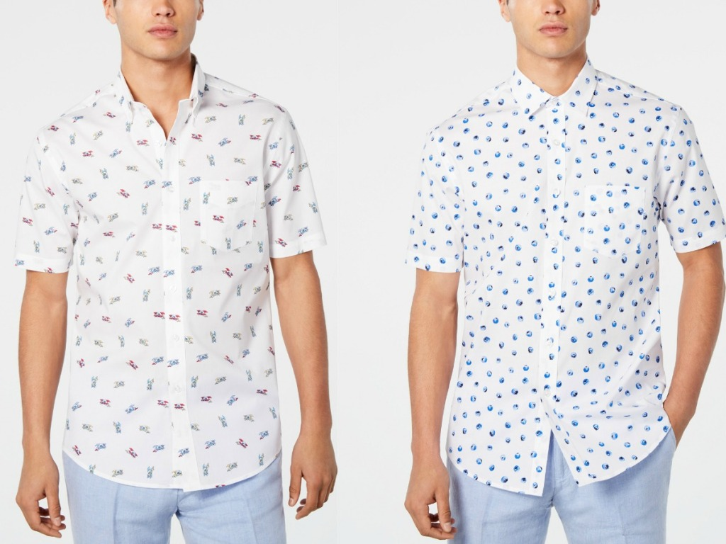 bb9d60e1029 Up to 80% Off Club Room Men's Shirts at Macy's - Hip2Save