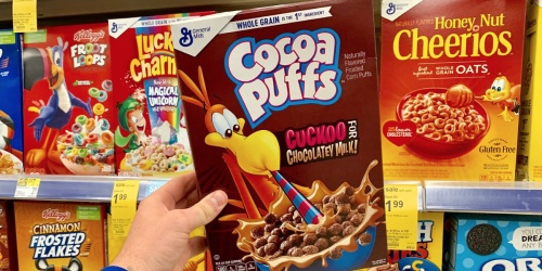 Cocoa Puffs Cereal Only 99¢ After Cash Back at Walgreens