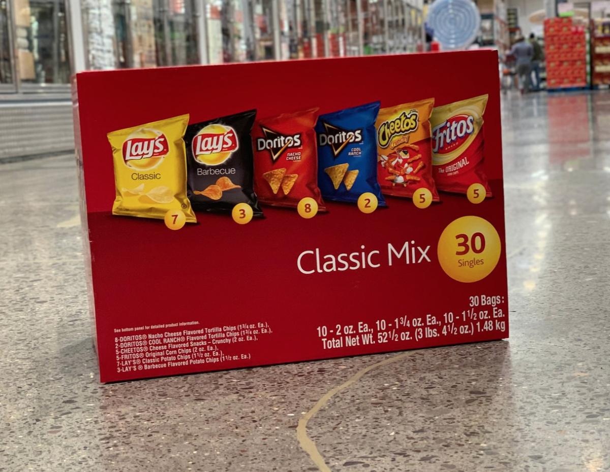doritos classic mix box at Costco
