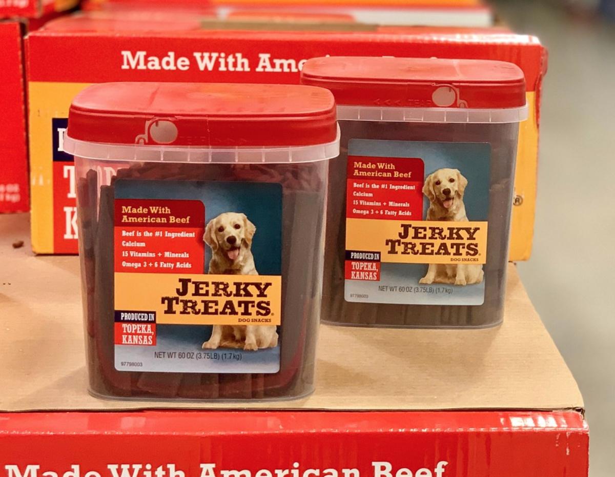 dog jerky treats at Costco