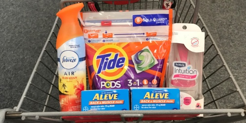 Over $41 Worth of Laundry & Personal Care Products Under $10 After CVS Rewards