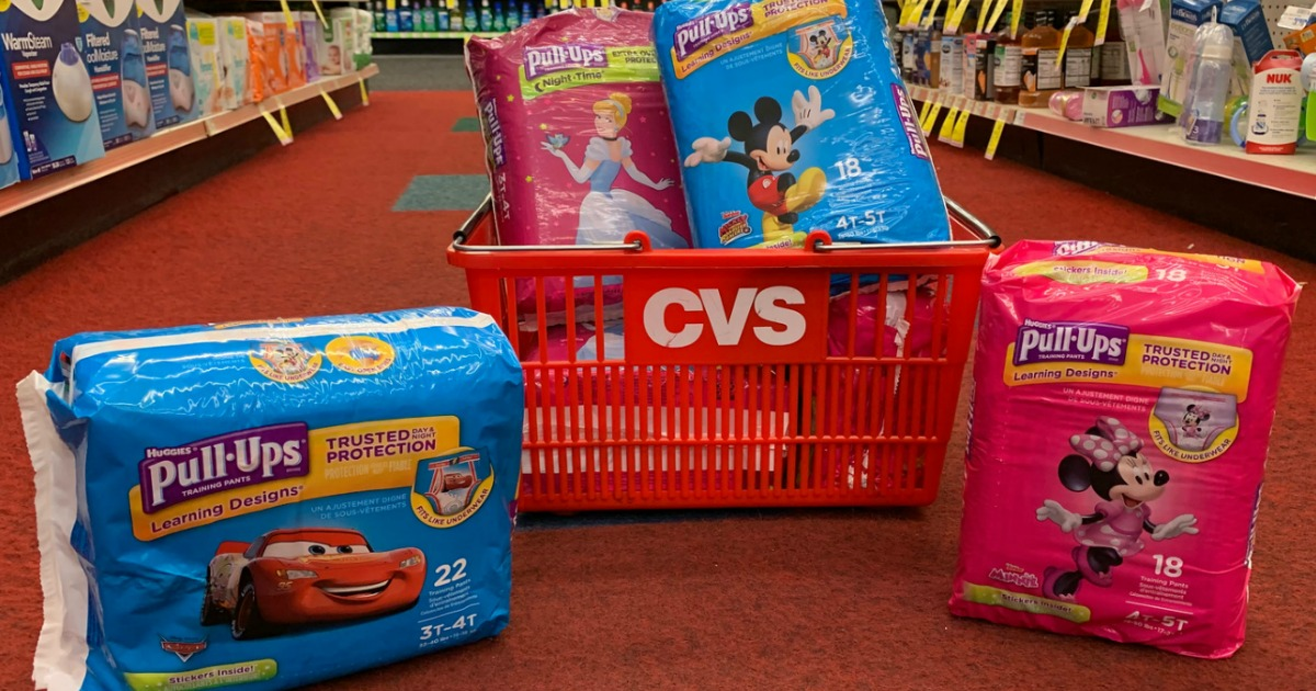 graphic regarding Printable Coupon $3 Off Pull Ups referred to as $4.50 Value of Fresh Huggies Pull-Ups Discount codes \u003d Jumbo Packs