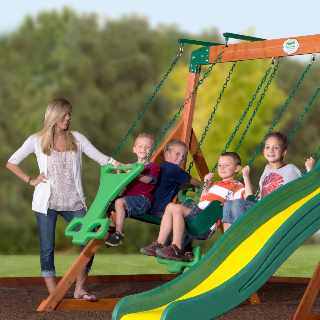 Up To 30% Off KidKraft & Backyard Discovery Wooden Swing
