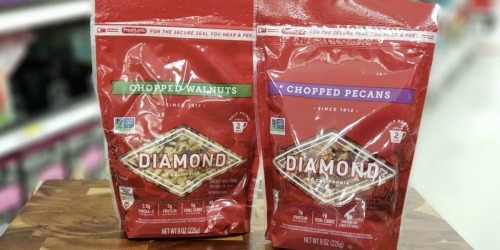 50% Off Diamond Walnuts & Pecans at Target (In-Store & Online)