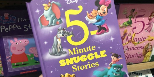 Disney 5-Minute Stories BIG Hardcover Books as Low as $5.69 on Amazon (Regularly $13)