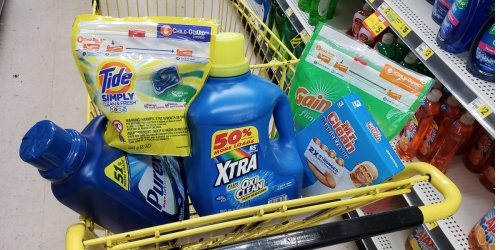 Over $26 Worth of Laundry & Cleaning Products Only $16 at Dollar General on 4/13 (Just Use Your Phone)